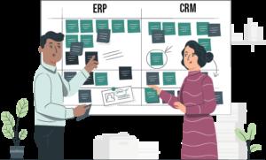 ERP vs CRM : les différences