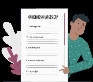 Quelles sont les informations à mettre dans un cahier des charges ERP ?